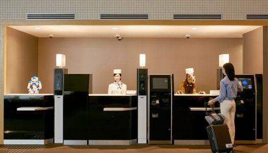 En este hotel te atienden robots