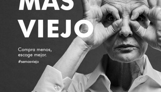 Adolfo Dominguez usa el concepto Viejo sin eufemismos