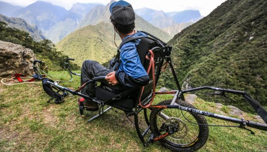 Machu Pichu en silla de ruedas