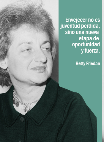 frase de betty friedman