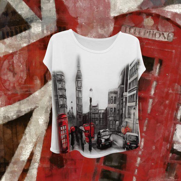 Camiseta de diseño. London.