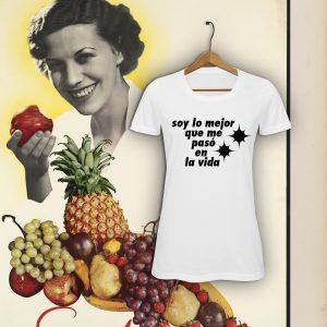 Camiseta con diseño exclusivo de Viejenials soy lo mejor
