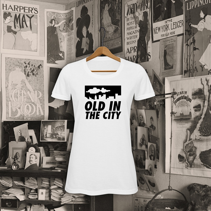 foto camiseta old in the city