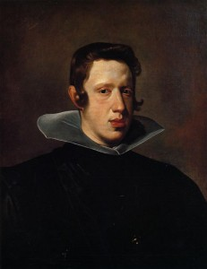 Velázquez. Retrato de Felipe II.