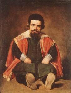 Velázquez. Retrato de Sebastián de Morra.